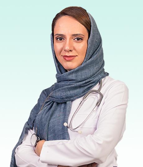 دکتر پریسا یوسففام متخصص طب فیزیکی و توانبخشی در کلینیک درد راد تهران